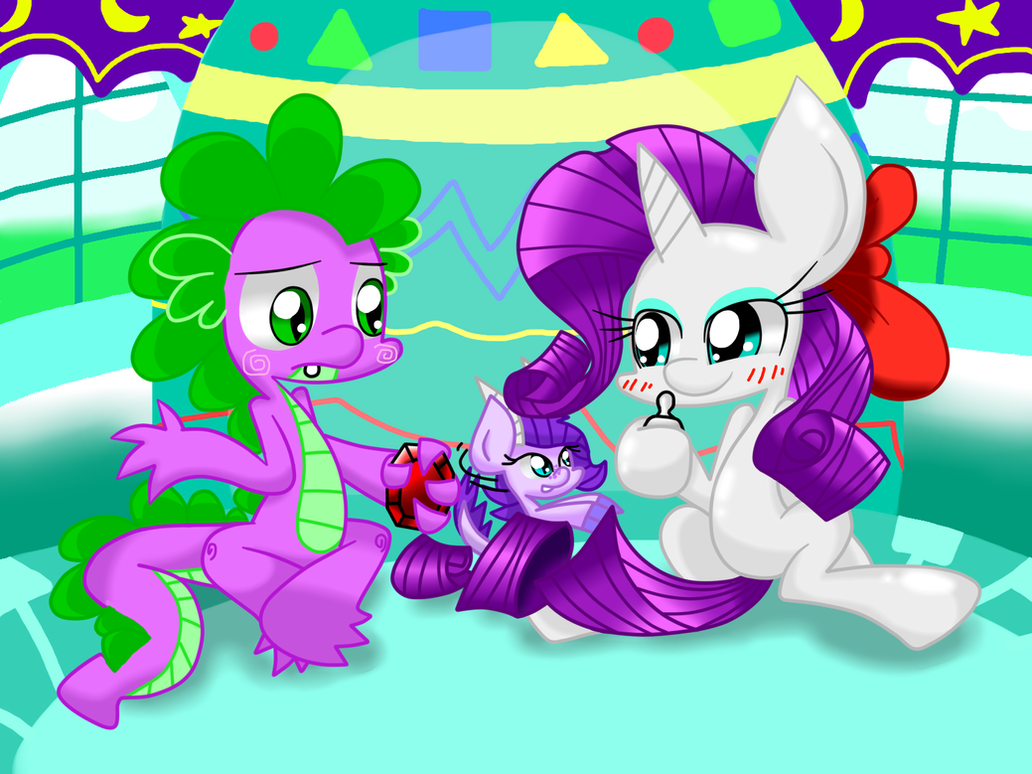 Rarity And Spike Family By LOVEHTF421 On DeviantArt
