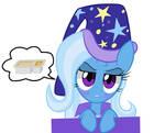 Trixie wants peanut butter cracker