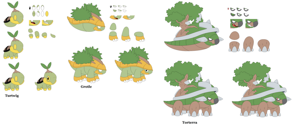 Turtwig [Character Builder] by yoshiLover1000