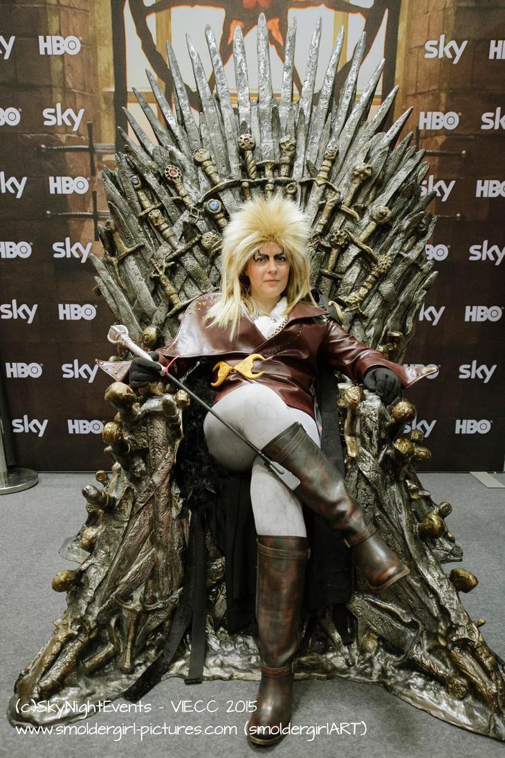 Jareth Goblin King Iron Throne by deFanel on DeviantArt Labyrinth Movie Wallpaper