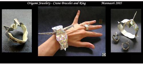Origami jeweleryCranes