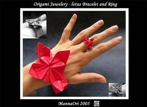 Origami Lotus - Jewelery
