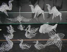 origami made with gauze by MannaOri