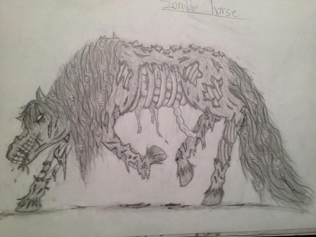 Zombie Horse by hARTzler1 on DeviantArt