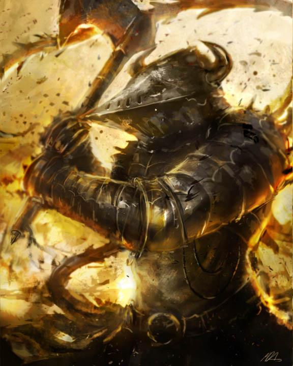Battle of flames by MDA-art