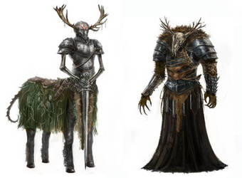 Creature concepts 3 by ConceptMike