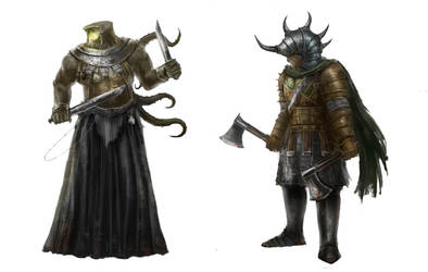 Heathen creatures by ConceptMike