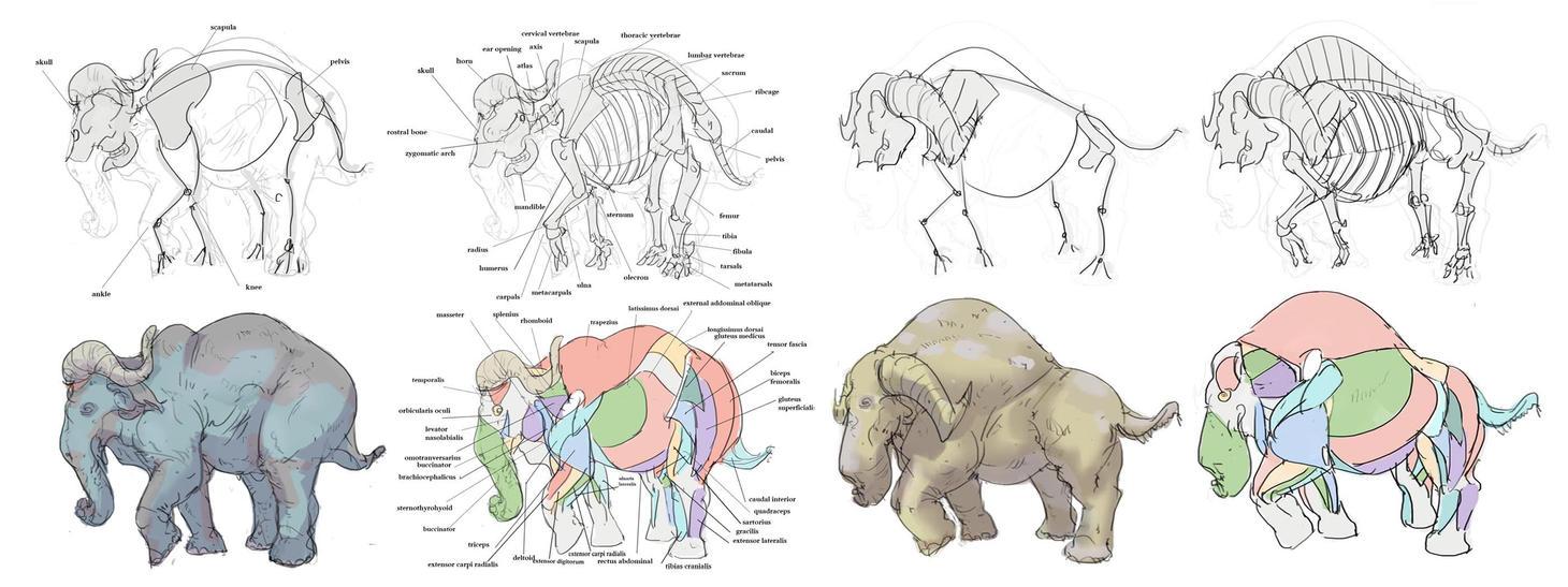 Creature design studies 4 by ConceptMike
