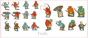 Trolls by ConceptMike