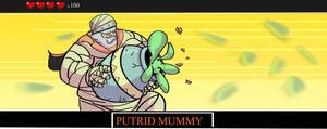 Puttrid mummy by ConceptMike
