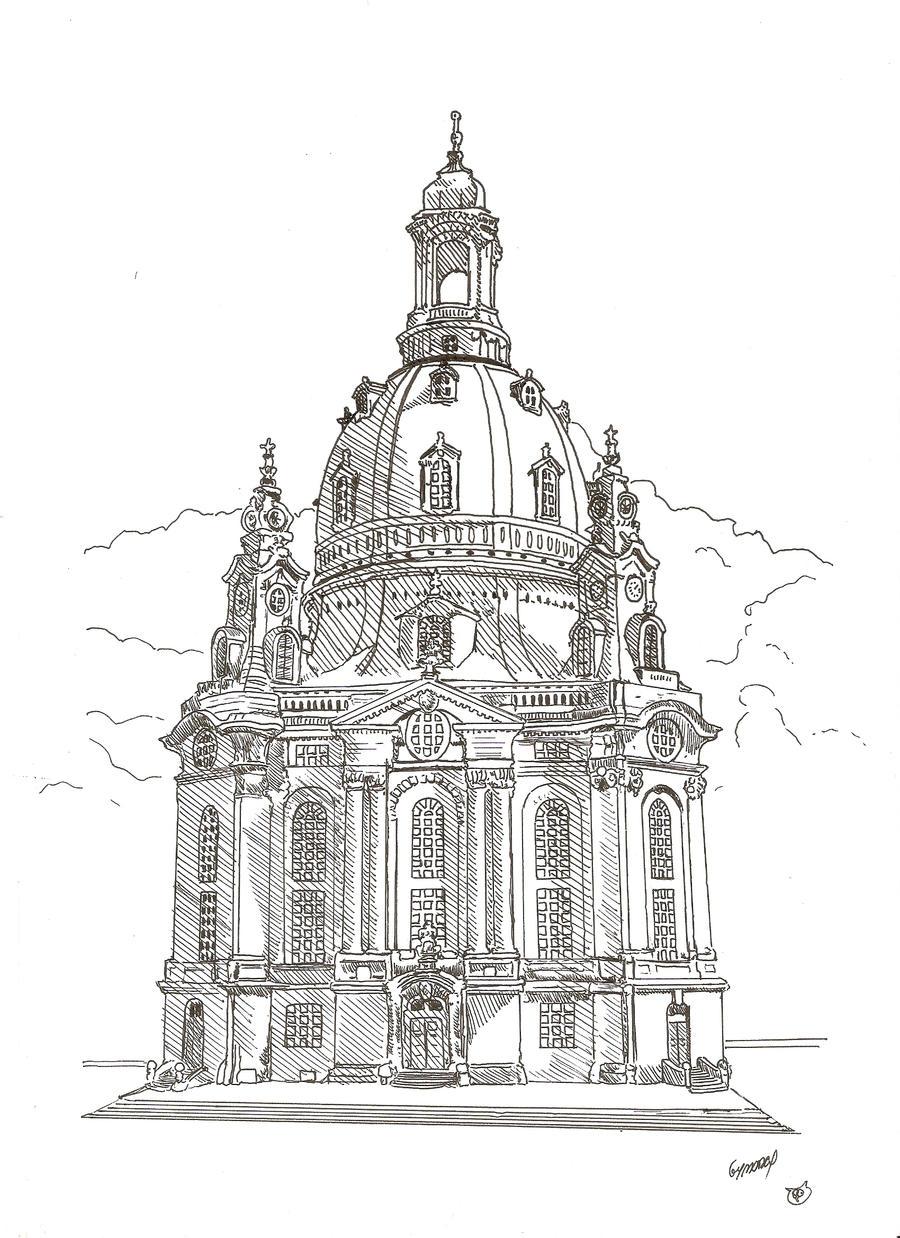 Frauenkirche Dresden By Megalobo On Deviantart