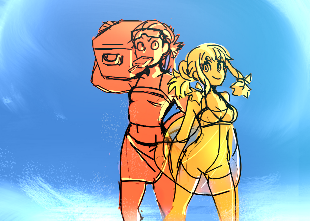 Beachparty by glooping