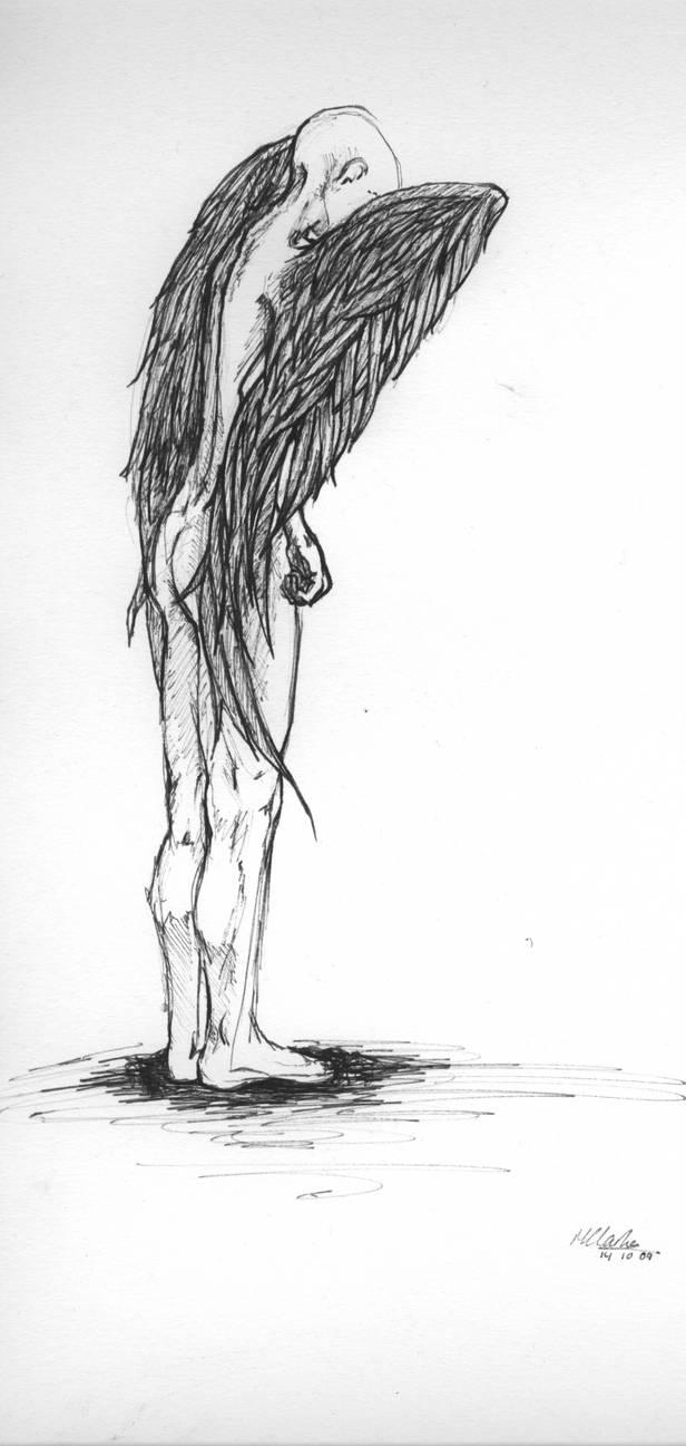 Wings series - angel standing