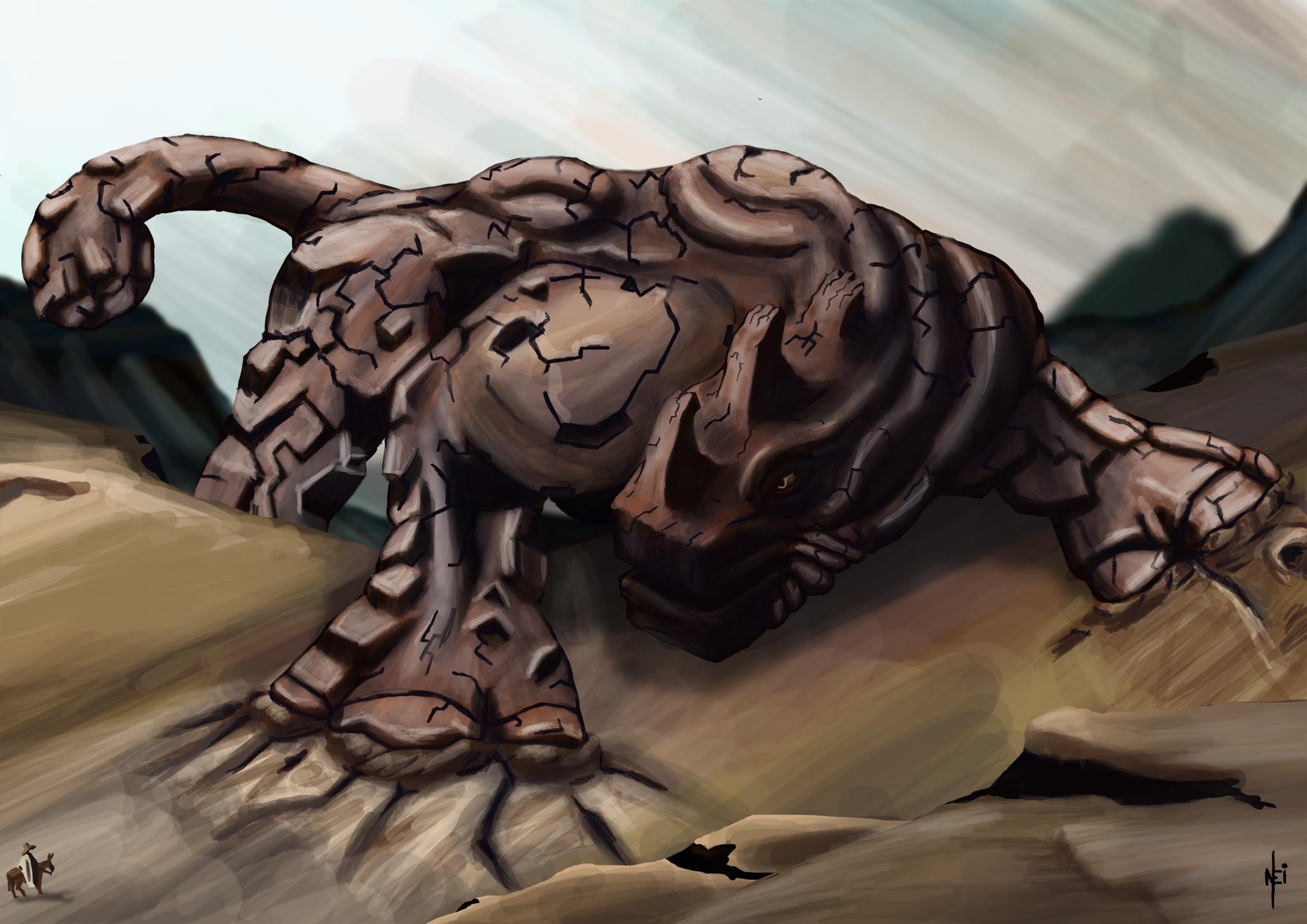 Gor - Earth Colossus. by Mulungu
