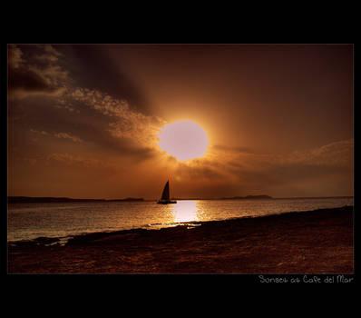 Sunset at Cafe del Mar