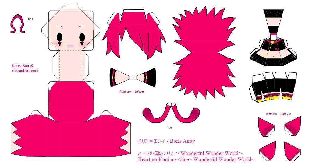 HnKnA PaperCraft - Boris by Larry-San
