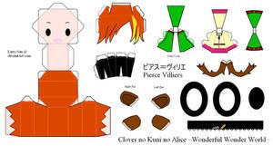 HnKnA - Pierce PaperCraft by Larry-San