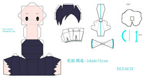 BLEACH PaperCraft - Ishida by Larry-San