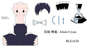 BLEACH PaperCraft - Ishida - Final Form by Larry-San