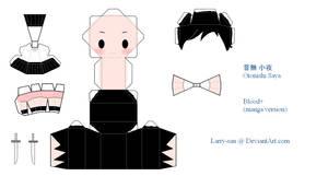 Blood+ PaperCraft - Saya
