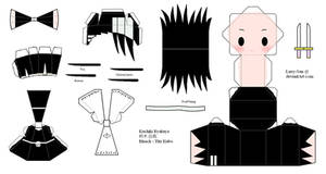 BLEACH Papercraft - Kuchiki Byakuya
