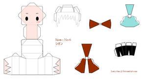 No.6 Papercraft - Sion