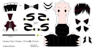 Pandora Hearts Papercraft - Cheshire by Larry-San