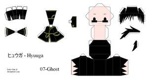07Ghost Papercraft - Hyuuga