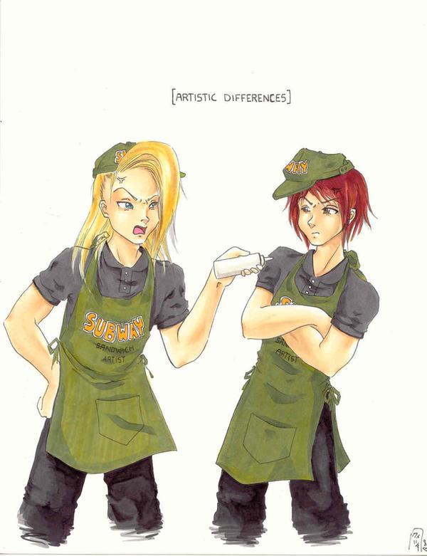 sandwich artist
