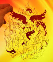 Team Valor PAPER CUTTING by Snowboardleopard