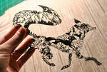 Fox PAPER CUTTING