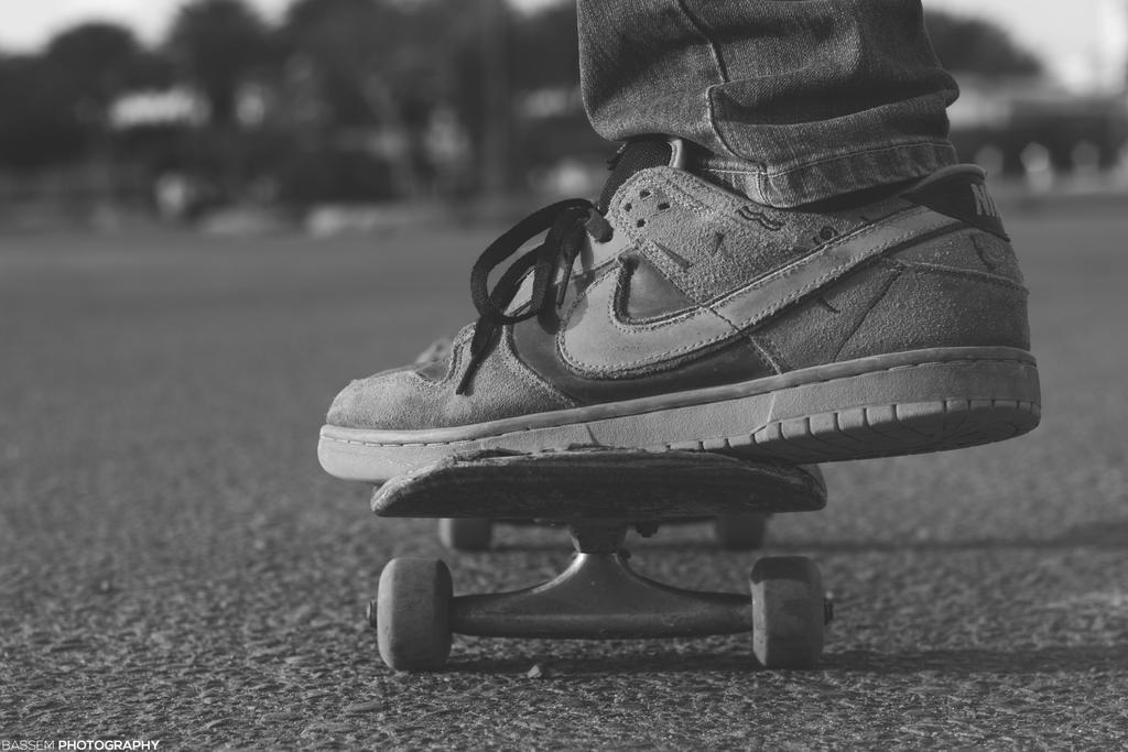 Skateboarder by BassemFox