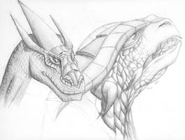 Dragons - Sketches by Dan-senpai
