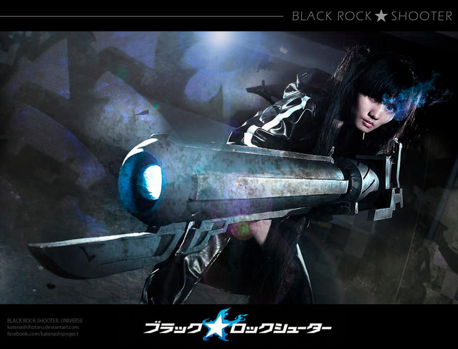 BLACK ROCK SHOOTER - Fired Up! by katanashihotaru