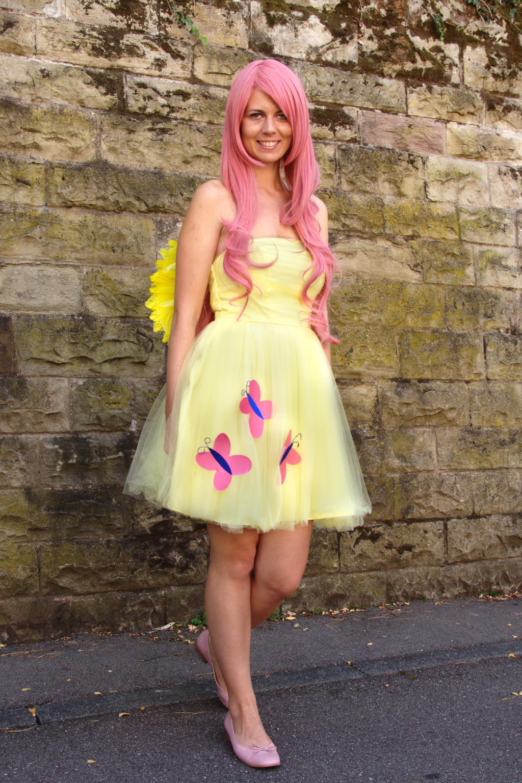 fluttershy cosplay by Sioxanne on DeviantArt