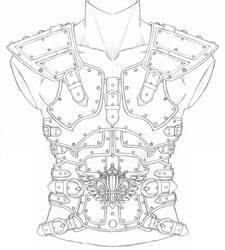 New LARP armor design by Arronis