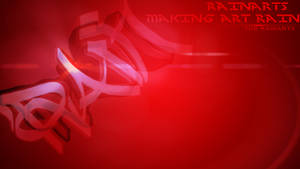 Red RainArts Desktop Background