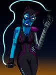 Fusion: Nebula + Catwoman