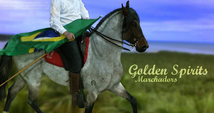 Golden Spirits Marchadors by CenturyPride