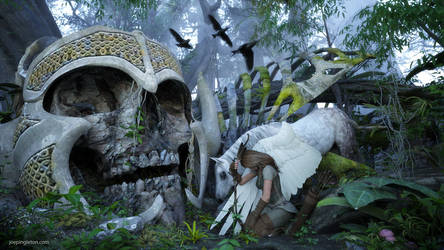 Forest of the Fallen Gods by JoePingleton
