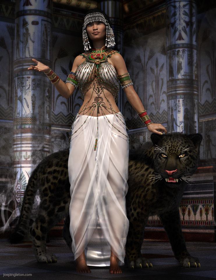 Panther Goddess by JoePingleton