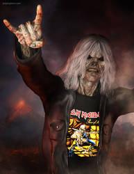 Metal Head by JoePingleton