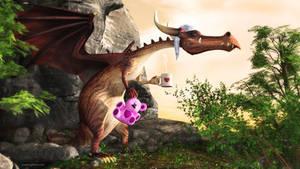 The Dragon Awakens by JoePingleton