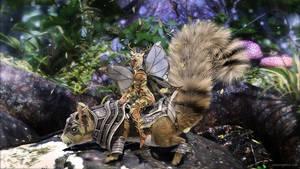 Battle Squirrel by JoePingleton