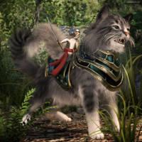 Battle Kitten by JoePingleton