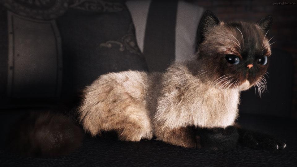 Kitty Couch by JoePingleton