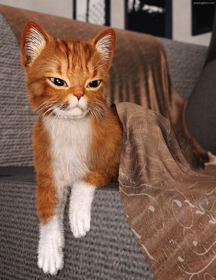 Undercover Kitty Cat by JoePingleton