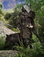 Black Wolf by JoePingleton
