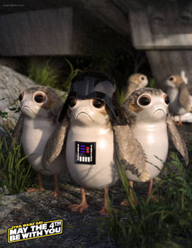 Come to the Porg Side