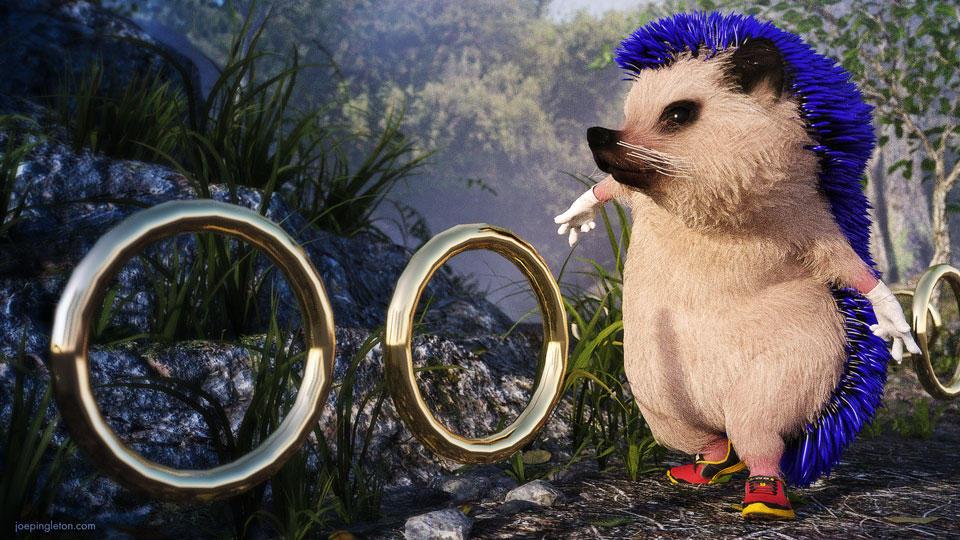 Sonic by JoePingleton